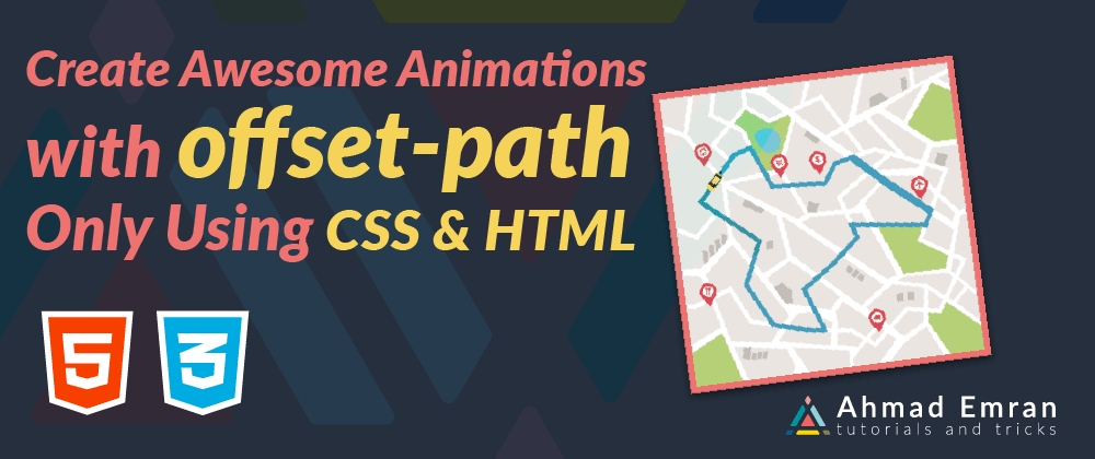 Cover image for Create Awesome Animation with offset-path | Only Using CSS & HTML