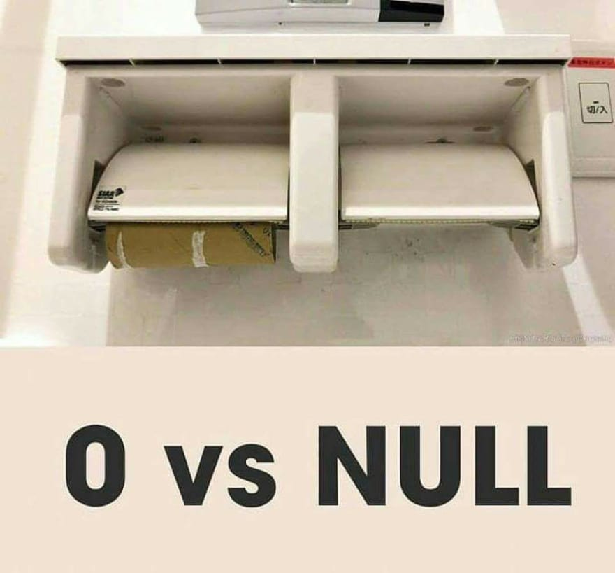 """Image from a empty toilet paper vs a non existent toilet paper"""