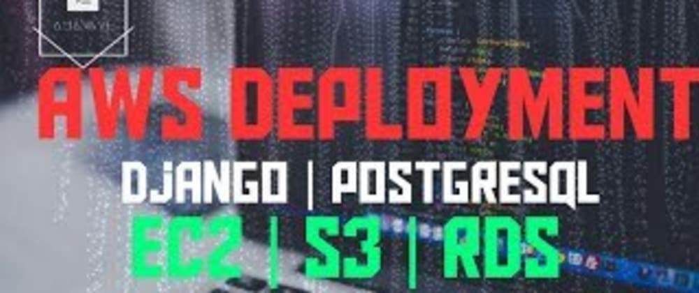 Cover image for How to deploy Django Web App on Ubuntu AWS EC2 with nginx Configuration