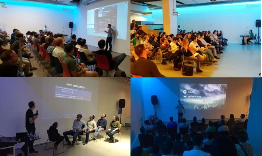 Several speakers of Alicante Frontend in 2017