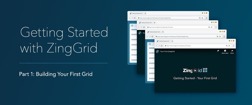 Cover image for Creating Your First Data Grid with ZingGrid