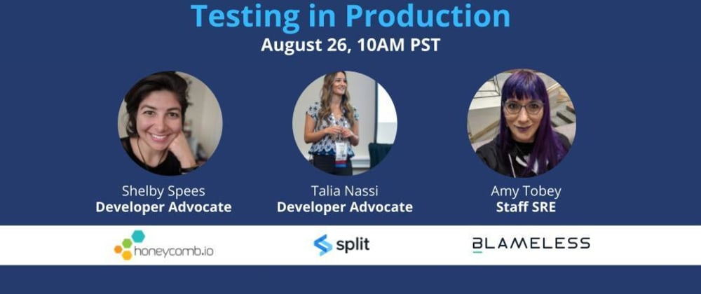 Cover image for SRE Leaders Panel: Testing in Production