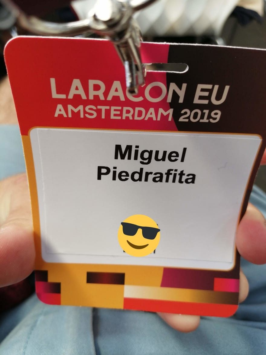 My first conference