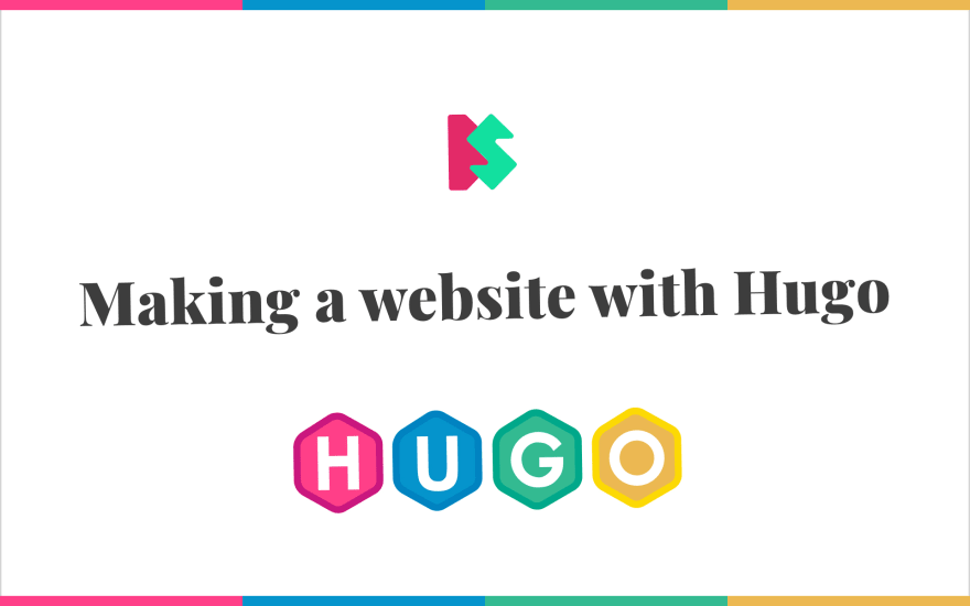 Making a website with Hugo cover