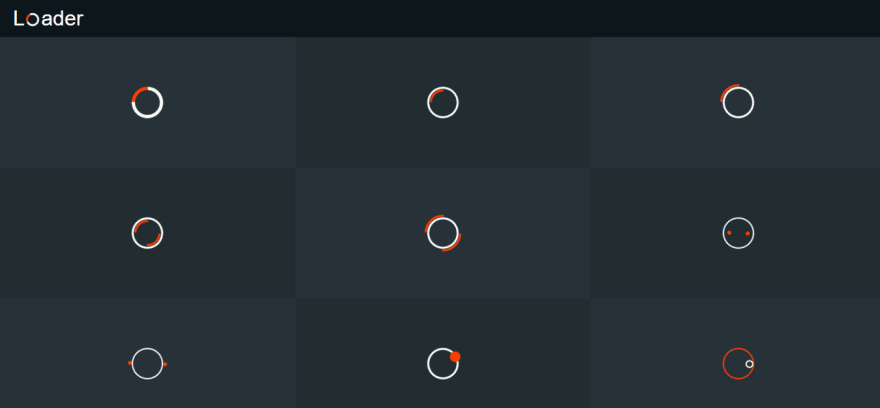 CSS3 loaders and spinners