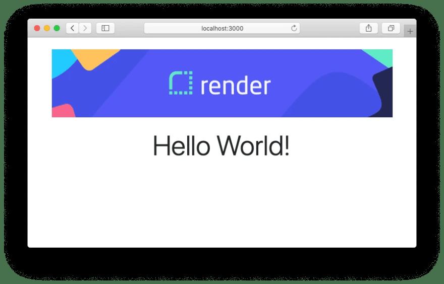 Rails Hello World