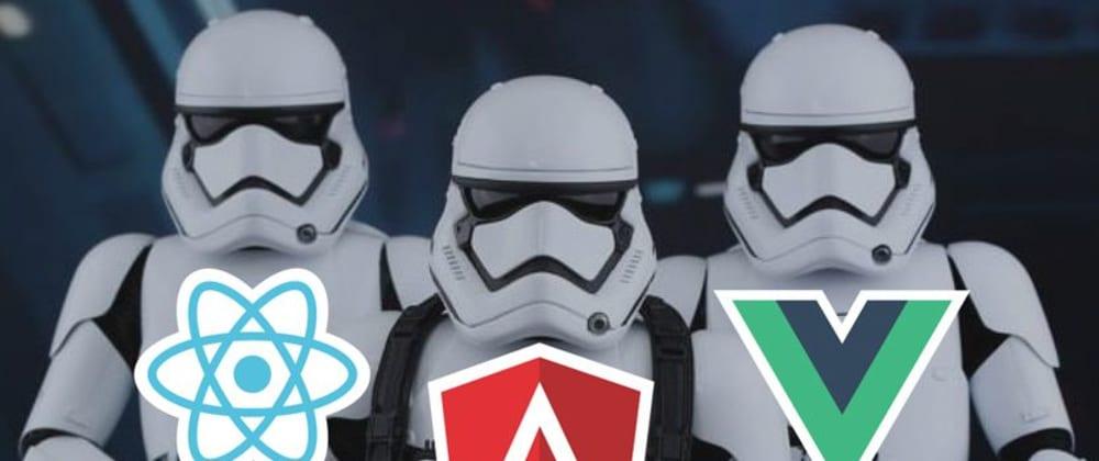 Cover image for Angular 2+ vs ReactJS vs Vue.js