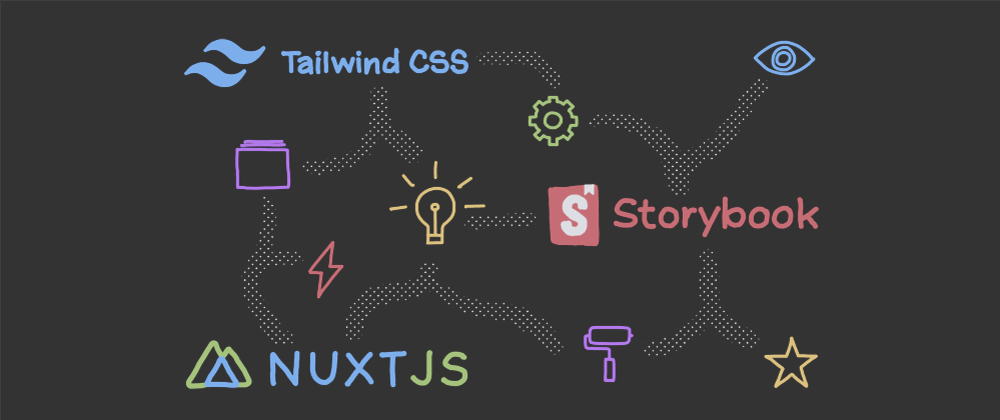 Cover image for Setting up Dark Mode for Nuxt and Storybook via Tailwind CSS