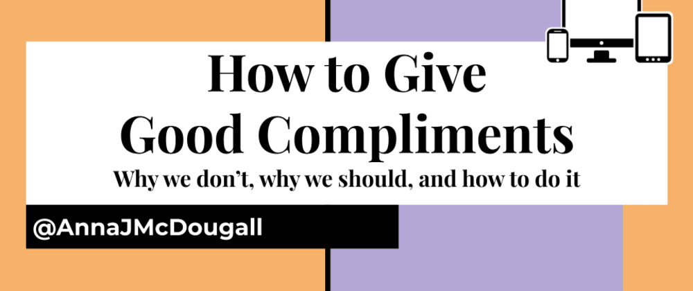 Cover image for How to Give Good Compliments