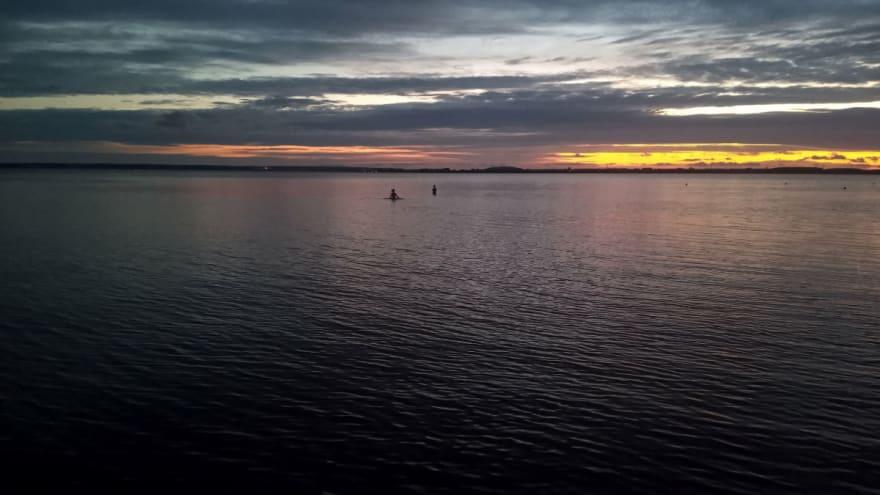 Sunset@Achterwasser - File uploaded with App