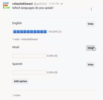 Allow Users to Add Options After Poll Creation