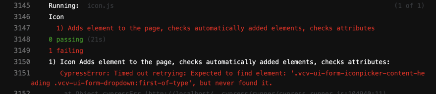 GitLab CI terminal error message