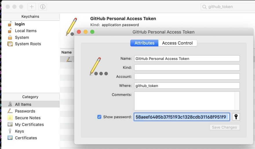 Remember to generate a new personal access token if you accidentally post it on DEV
