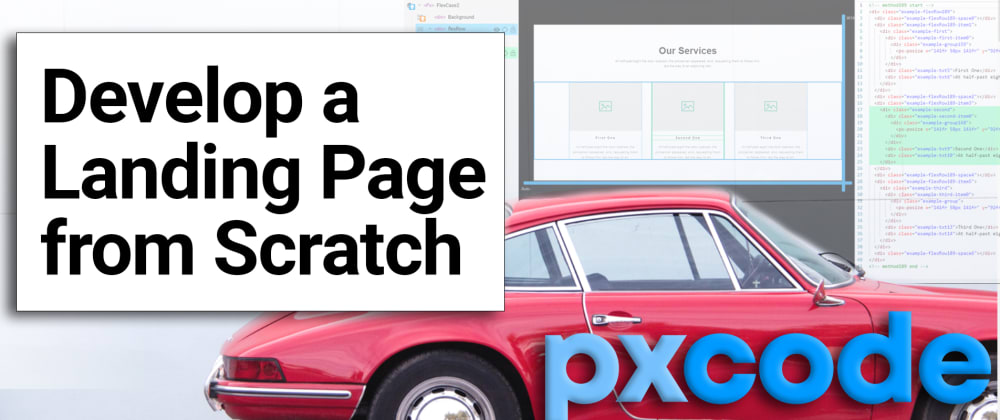 Cover image for Develop a Landing Page from Scratch within 30 minutes