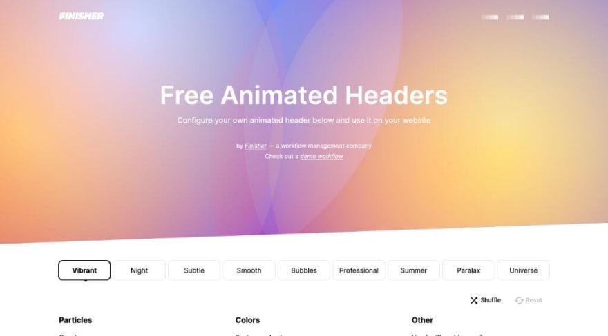 Free Animated Headers
