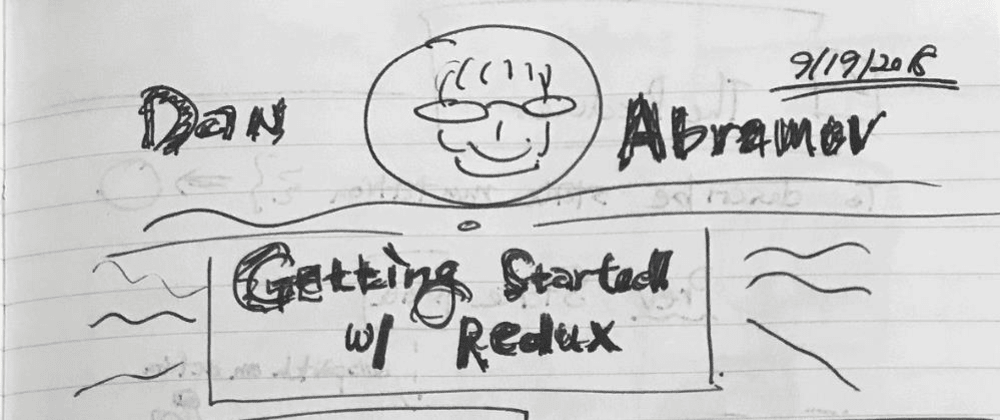 "Cover image for Sketchnotes for ""Getting Started with Redux"""