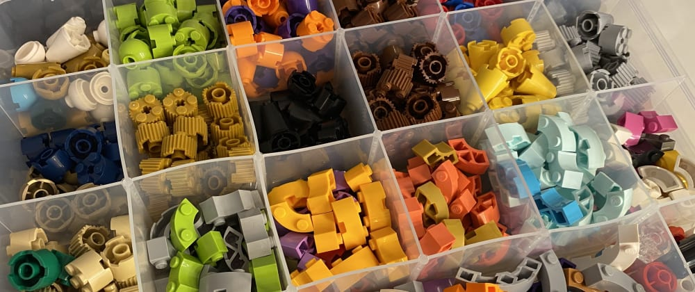Cover image for The controlled chaos of Legos