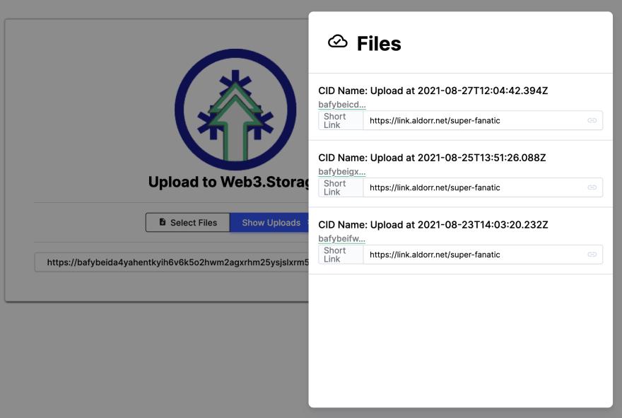 File List Drawer