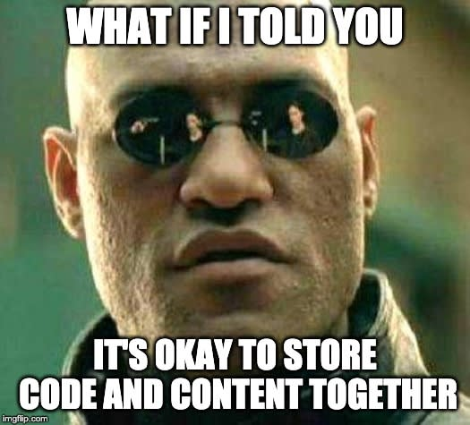 What if I told you, it's okay