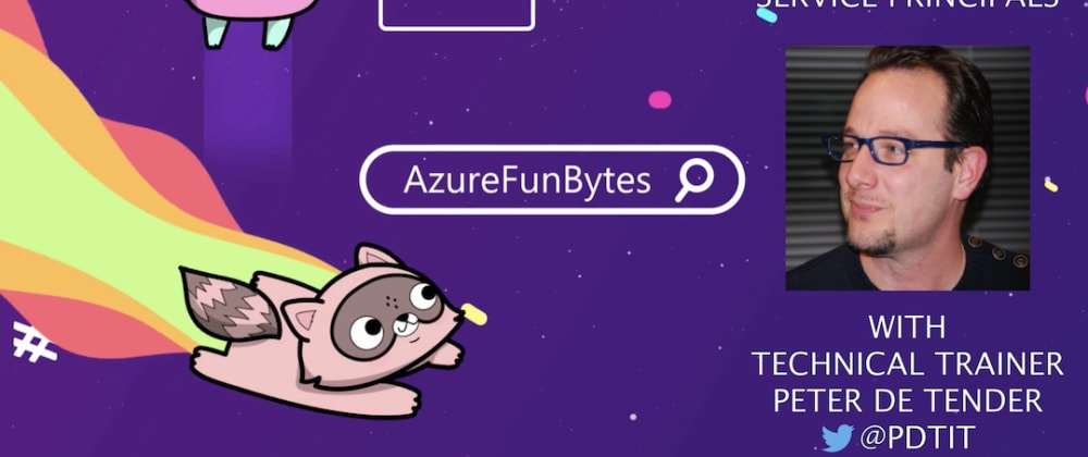 Cover image for AzureFunBytes Reminder - @Azure Identity with @pdtit - Thursday, March 18, 2021!