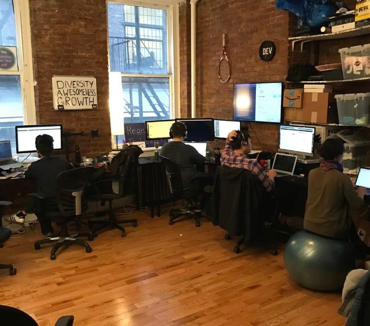 beautiful new office photo