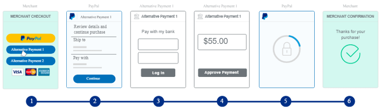 PayPal Alternative Payment Methods