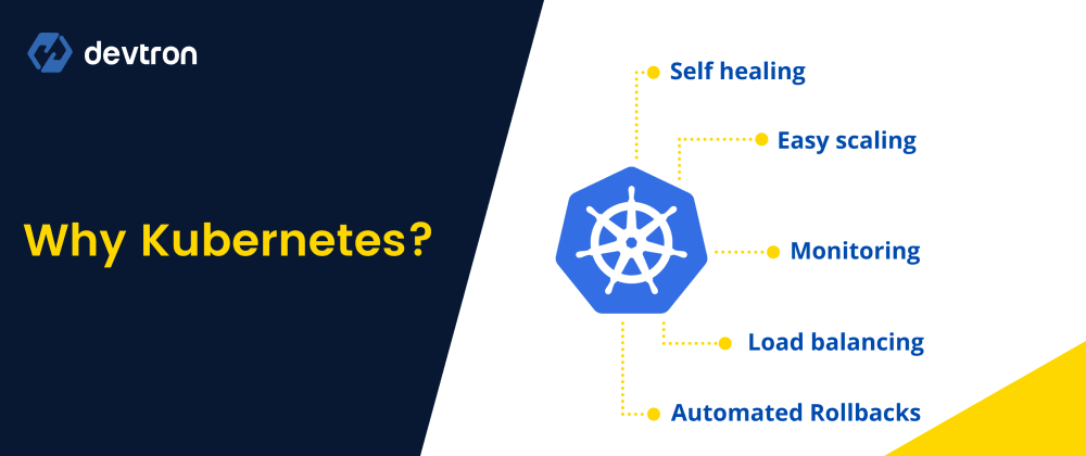 Cover image for Here's why you should use Kubernetes!