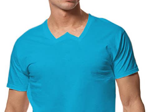 W-neck shirt