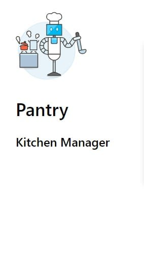 Pantry Layout
