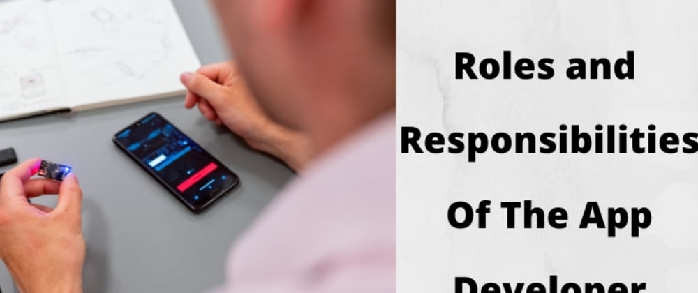 Cover image for Roles and Responsibilities of the App developers
