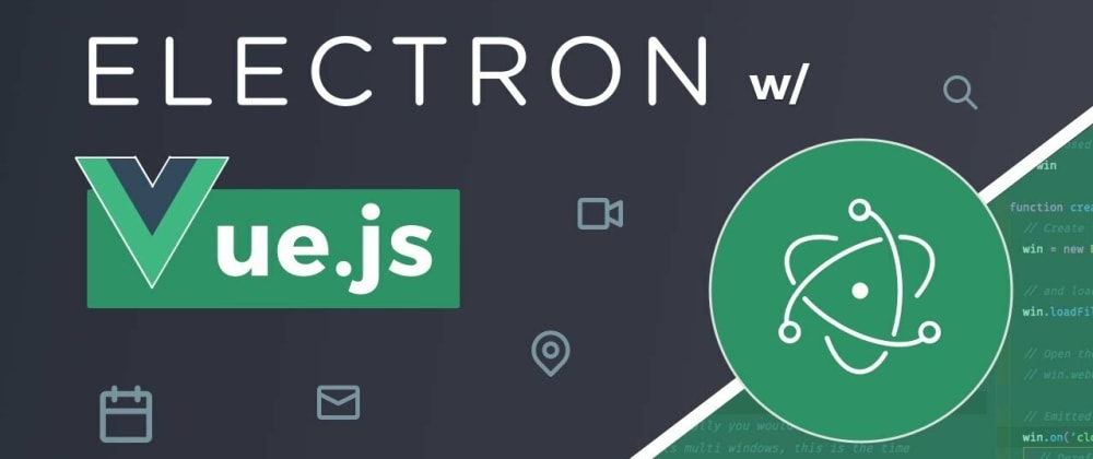 Cover image for Vite + Vue 3 + electron + TypeScript