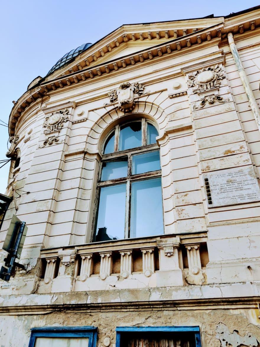Old building side