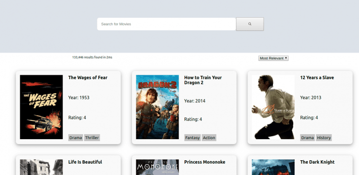 complete movie app ui