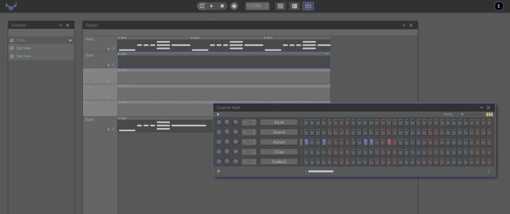 Cover image for Open-DAW - Digital Audio Workstation online