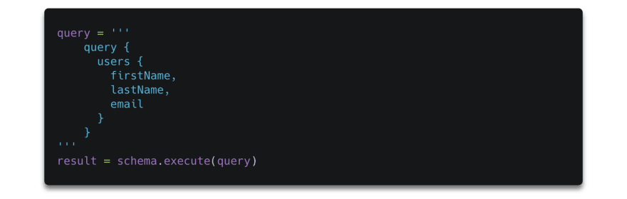 query simple schema