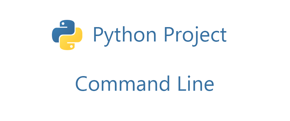 Cover image for Python Project - Command Line