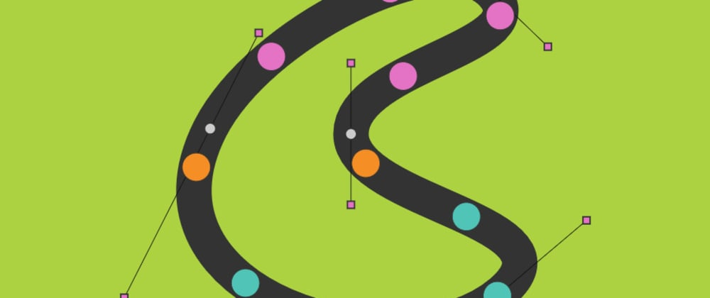 Cover image for Animate objects along a user editable path in two lines of JavaScript.