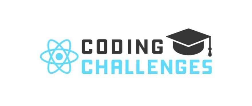 ReactJS coding challenges