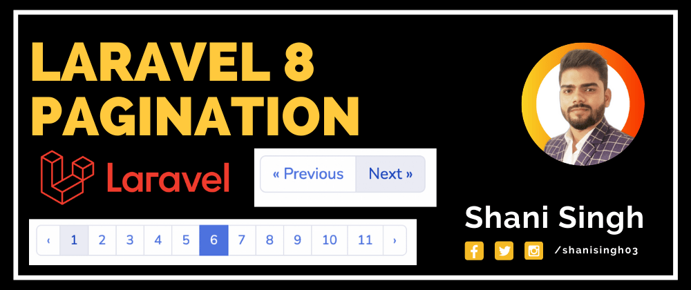 Cover image for Laravel  Pagination