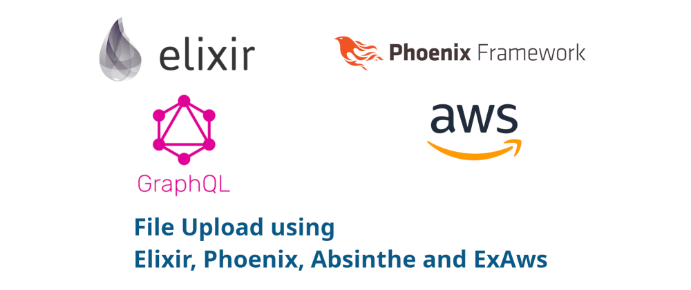 Cover image for File Upload using Elixir, Phoenix, Absinthe and ExAws