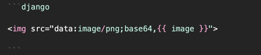 Base64 image data in <img> tag