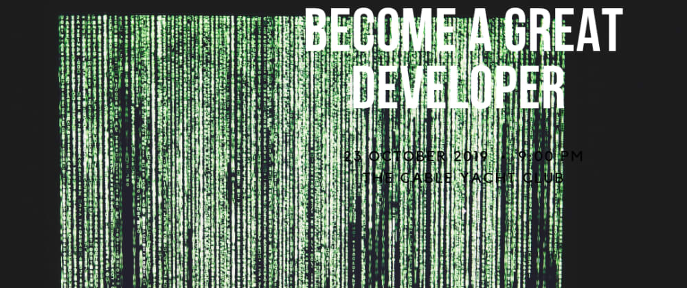 Cover image for what do you need to be a great developer