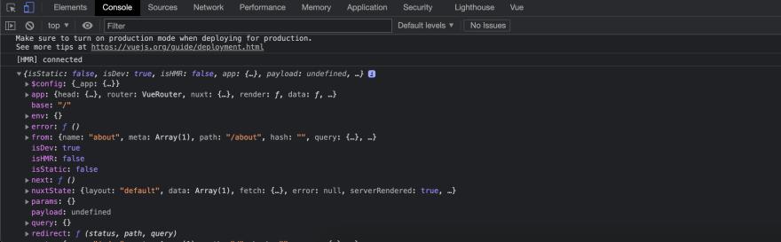 Client Side Test Nuxt.js