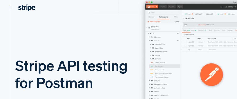 Cover image for Testing Payments with Stripe's New Postman Collections