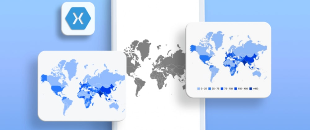 Cover image for How to Create a Choropleth Map in a Xamarin Application