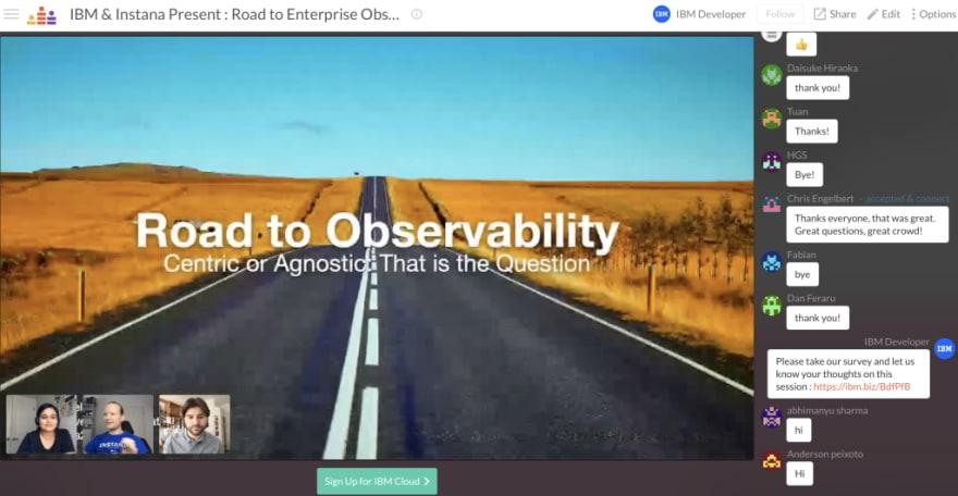 IBM & Instana: Road to Enterprise Observability