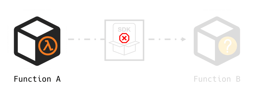 Black-box AWS SDK fails