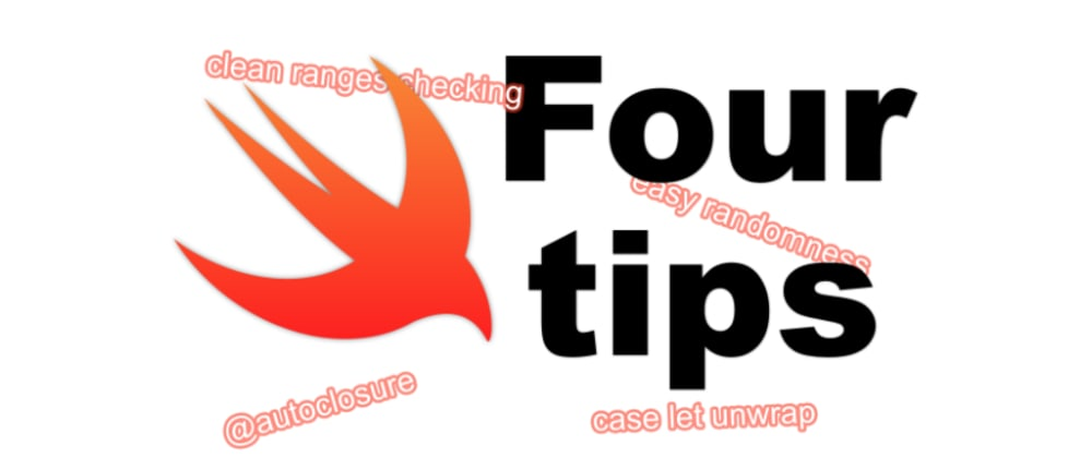 Cover image for 4 tips to level up your Swift