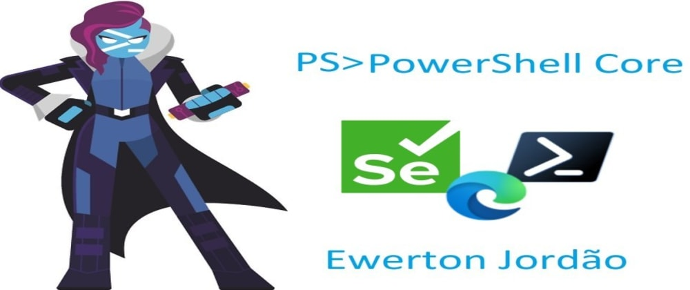 Cover image for Consumindo a dll do Selenium WebDriver | Powershell 7