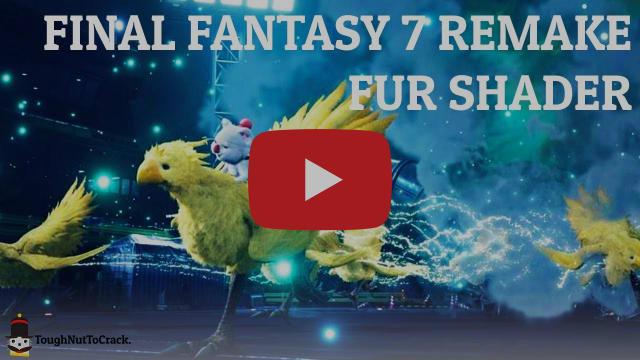 Final Fantasy 7 Remake - Fur shader in Unity